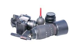 Accesorios de la foto Fotografía de archivo libre de regalías