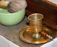 Accesorios de la iglesia en altar Imagen de archivo libre de regalías