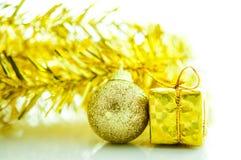 Accesorios de la Navidad y del Año Nuevo Fotos de archivo libres de regalías