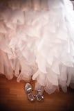 Accesorios de la novia Foto de archivo