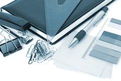 Accesorios de la oficina Imagen de archivo