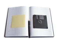 Accesorios de la oficina del encargado Foto de archivo