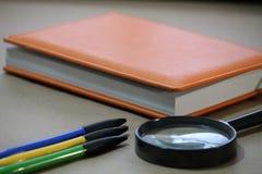 Accesorios de la oficina, oficina Imagen de archivo libre de regalías