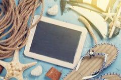 Accesorios de la playa Imagen de archivo