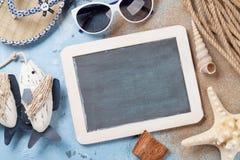Accesorios de la playa Imagenes de archivo