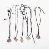 Accesorios de los collares para la joyería de las mujeres Fotografía de archivo libre de regalías