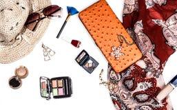 Accesorios de moda brillantes para las mujeres Fotos de archivo