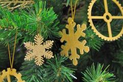 Accesorios de oro hermosos del mas de X para la decoración Fotografía de archivo