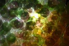 Accesorios decorativos para coser y el bordado Forma redonda de las lentejuelas brillantes Imagen de archivo
