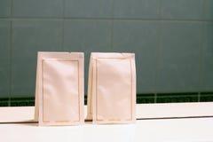Accesorios del baño Imagen de archivo libre de regalías