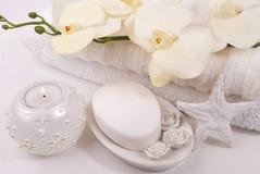 Accesorios del baño Imagen de archivo