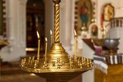 Accesorios del bautismo para los niños Imagen de archivo libre de regalías