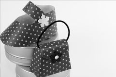 Accesorios del bebé Fotografía de archivo libre de regalías