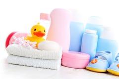 Accesorios del bebé imagenes de archivo