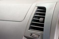 Accesorios del coche que canalizan el aire acondicionado Acondicionador de aire Imágenes de archivo libres de regalías