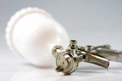 Accesorios del compresor, arma de la pintura, soplando, el prensar, soplando Fotos de archivo libres de regalías