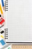Accesorios del cuaderno y de la oficina Imagen de archivo