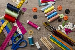 Accesorios del diseñador de moda Imagenes de archivo