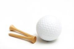Accesorios del golf imagen de archivo libre de regalías