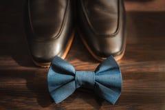 Accesorios del hombre de negocios Estilo del ` s del hombre Accesorios del ` s de los hombres: Mariposa del ` s de los hombres, z Imagenes de archivo