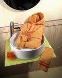 Accesorios del lavabo Imagenes de archivo