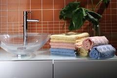 Accesorios del lavabo Imagen de archivo