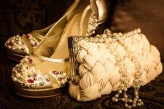 accesorios del lujo del Dúo-tono Imagen de archivo libre de regalías