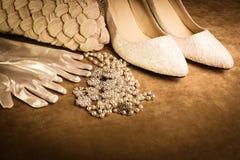 accesorios del lujo del Dúo-tono Foto de archivo libre de regalías