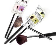 Accesorios del maquillaje de la belleza Imagen de archivo libre de regalías