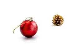 accesorios del ornamento de la Navidad Imagenes de archivo