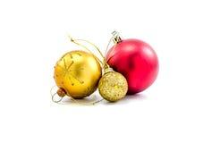 accesorios del ornamento de la Navidad Foto de archivo libre de regalías