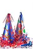 Accesorios del partido Imagen de archivo libre de regalías