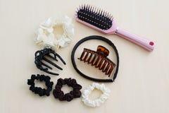 Accesorios del pelo para las mujeres Imagenes de archivo