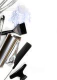 Accesorios del peluquero Foto de archivo libre de regalías