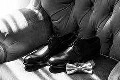 Accesorios del ` s de los hombres para casarse Imagen de archivo libre de regalías