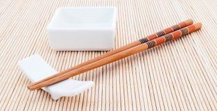 Accesorios del sushi Fotos de archivo