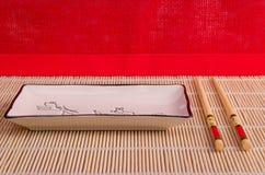 Accesorios del sushi Imagen de archivo