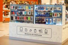 Accesorios del teléfono celular Foto de archivo