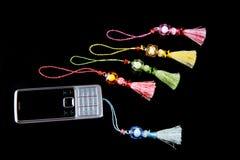 Accesorios del teléfono móvil Imagen de archivo