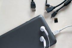 Accesorios del teléfono móvil Imagenes de archivo