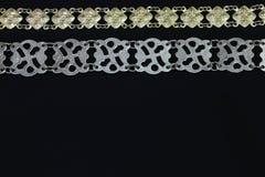 Accesorios del traje étnico de Borneo - Limpogot Imagen de archivo