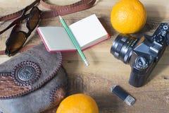 Accesorios del viaje y de las vacaciones Imagenes de archivo