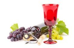 Accesorios del vino Imagen de archivo libre de regalías