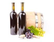 Accesorios del vino Fotografía de archivo libre de regalías