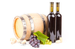 Accesorios del vino Foto de archivo