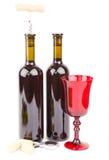 Accesorios del vino Fotos de archivo