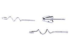 Accesorios eléctricos del batidor. Imagen de archivo libre de regalías