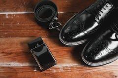 Accesorios elegantes del ` s de los hombres Imágenes de archivo libres de regalías