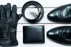 Accesorios elegantes para los hombres Fotografía de archivo
