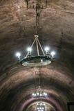 Accesorios en el techo del sótano Imagenes de archivo